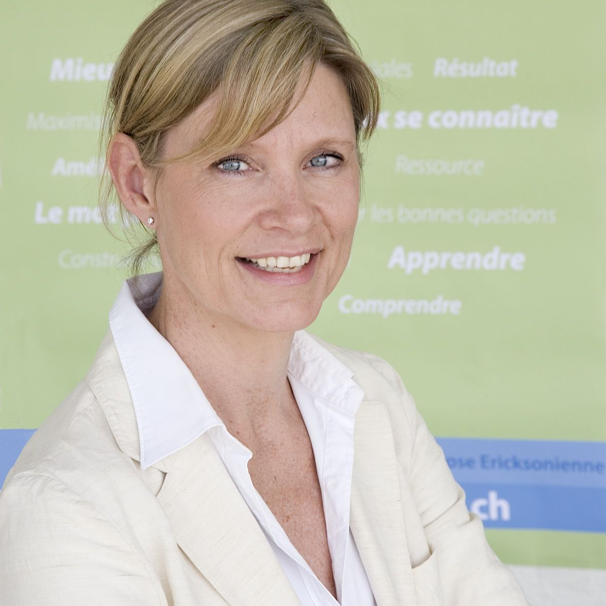 Trina Mohn Directrice et formatrice PNL/Coaching/Hypnose Ericksonienne